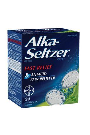 Bayer Healthcare Consumer Care Alka-Seltzer® Lemon-Lime Tablets 24's - image 1 of 2