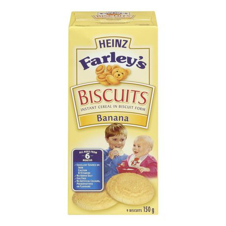 Biscuits à la banane Farley's de Heinz - image 1 de 2