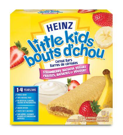 Heinz Little Kids Strawberry Banana Yogurt Cereal Bar