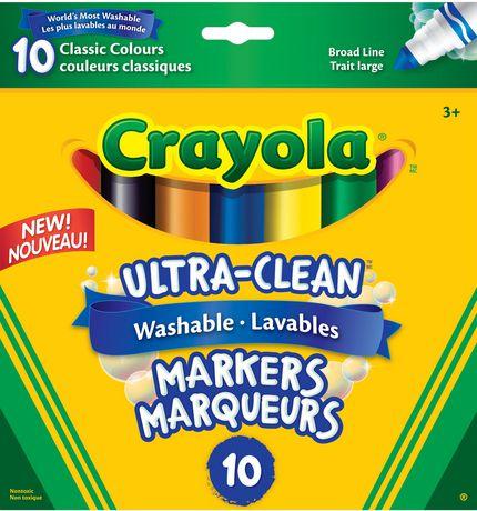 Crayola 8+2 Washable Markers - image 1 of 1