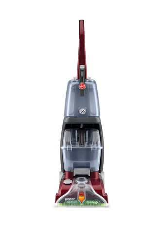 Hoover Power Scrub Deluxe Carpet Washer Red