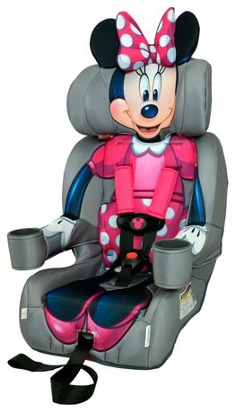 KidsEmbrace Friendship Combination Booster Minnie Mouse Baby Car Seat