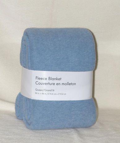 Grey Label Fleece Blanket Walmart Canada