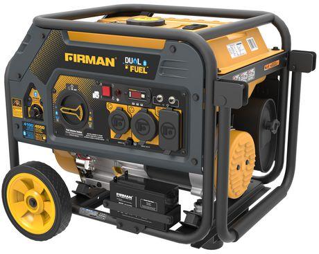 Firman Power Equipment H03651 Dual Fuel 4550/3650 Watt (hybrid Series) Extended Run Time Generator - image 2 of 7