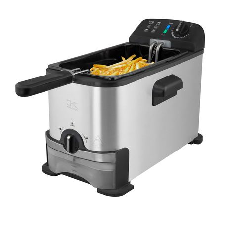 Kalorik 3.2 Quarts Deep Fryer with Oil Filtration System, Stainless Steel - image 2 of 6