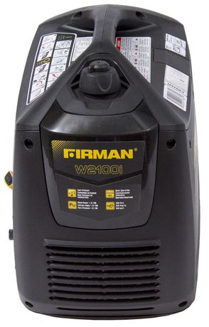 Firman Power Equipment W01781 Gas Powered 2100/1700 Watt (whisper Series) Extended Run Time Inverter Generator - image 3 of 7