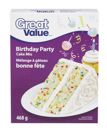 Great Value Cake Mix