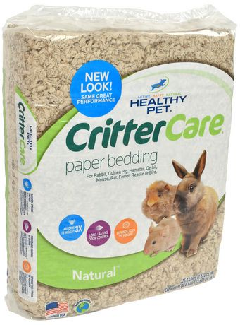 Critter Care Natural Paper Bedding Walmart Canada