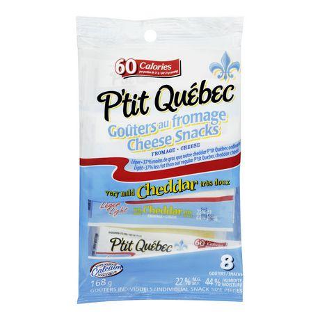 P'Tit Quebec Very Mild Cheddar Snack - image 1 of 2