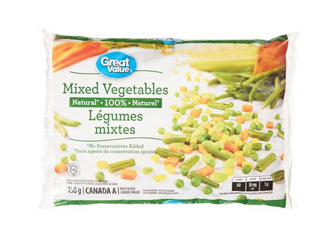 Great Value Frozen Mixed Vegetables - image 1 of 2