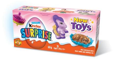 Kinder Surprise Chocolate Pink Multi Pack