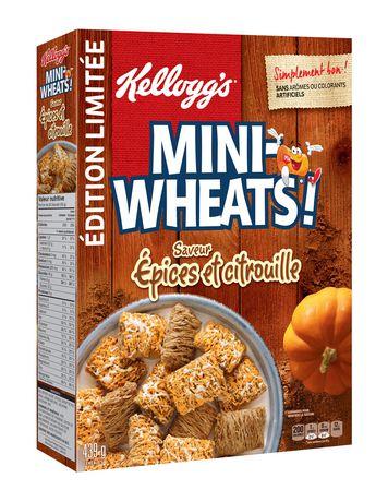 Kellogg's Mini-Wheats Pumpkin Spice Cereal - image 2 of 4