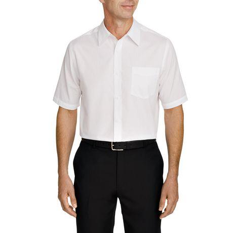 a52a9c2fe07 George Men s short Sleeved Dress Shirt - image 1 ...