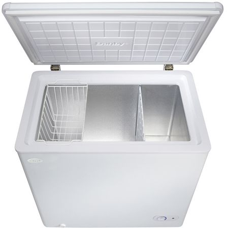 mini deep freezer danby 5 5 cu ft capacity chest freezer walmart ca 29061