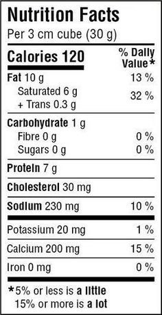 Great Value Medium Cheddar Cheese - image 2 of 3