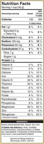 Kellogg's Rice Krispies Cereal Brown Rice Gluten Free, 340g - image 4 of 5