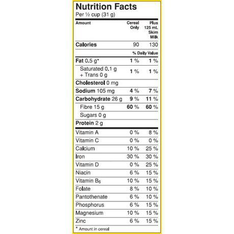 Fibre 1™ Crunchy Original Cereal - image 6 of 7