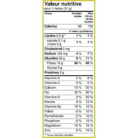 Fibre 1™ Crunchy Original Cereal - image 7 of 7