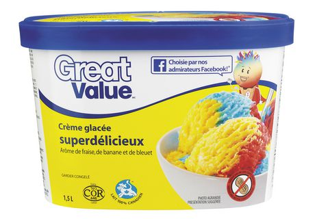 Great Value Superlicious Ice Cream - image 2 of 3