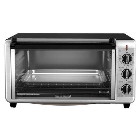 BLACK + DECKER Silver Toaster Oven Walmart.ca