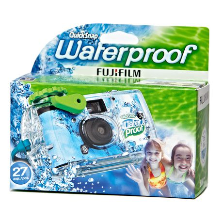 Fujifilm QuickSnap Waterproof Disposable Camera - image 1 of 2