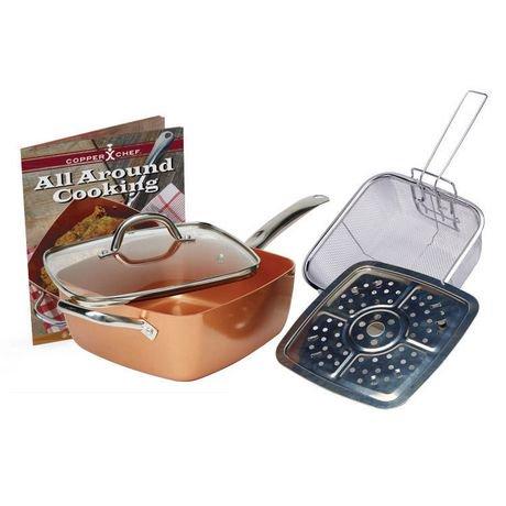 Copper Chef 5 Piece Cookware Set Walmart Canada