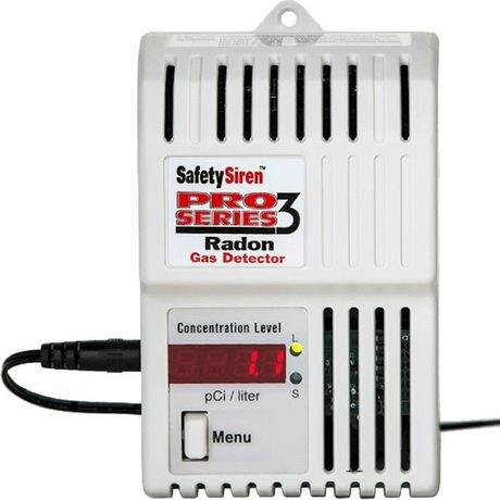 Safety Siren Pro Series 3 Gas Radon Detector Walmart Canada