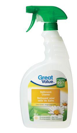 great value citrus grove bathroom cleaner