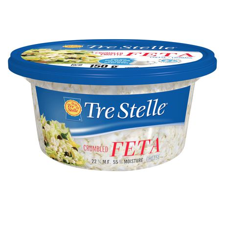 Tre Stelle Feta Crumbled Cheese - image 1 of 2