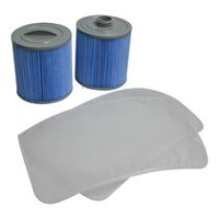 Canadian Spa Co. Glacier Microban® 100 Sq Ft Filter Set