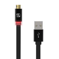 Scosche EZTIP™ 3' Charge & Sync Cable for Micro USB Devices Black