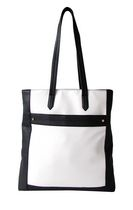 Nicci Ladies Black and White Tote Bag