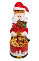 Baskets by On Occasion Santa's Snack Tower Gift Basket