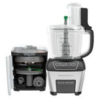 BLACK + DECKER 11-Cup Black Performance Food Processor