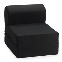 ComfyKids Flip Chair Black