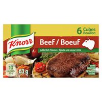 Knorr® 6 Beef Bouillon Cubes