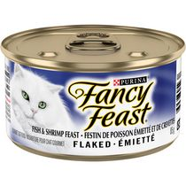 Fancy Feast Flaked Fish & Shrimp Feast Gourmet Cat Food
