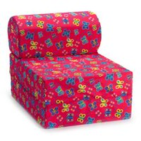 Comfy Kids Flip Chair Red