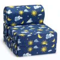 Fauteuil rabattable de de ComfyKids Moon and Stars