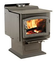TR007 Ponderosa 3,200 Sq. Ft EPA Certified Wood Stove