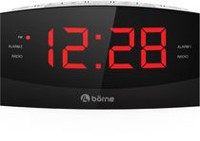 Borne CR1830D AM/FM Clock Radio