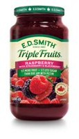 E.D. Smith Triple Fruits Raspberry Strawberry Blackberry Spread