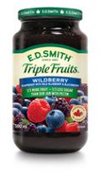 E.D. Smith Triple Fruits Wildberry Raspberry Wild Blueberry Blackberry Spread