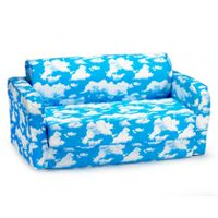 Comfy Kids Flip Sofa Blue Me Away!
