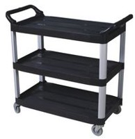 DuraPlus Black Large Utility Cart
