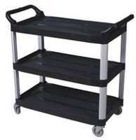 Duraplus Black Small Utility Cart
