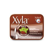 Xyla Naturally Sugar Free Xylitol Cocoa Mint Candy