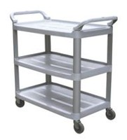 DuraPlus Gray Small Utility Cart