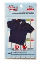 Mabel's Labels Write Away Peel and Stick Labels for Girls, 60 Count