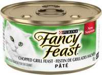 Fancy Feast Pâté Chopped Grill Feast Gourmet Wet Cat Food